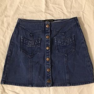 Pacsun Kendall & Kylie denim skirt